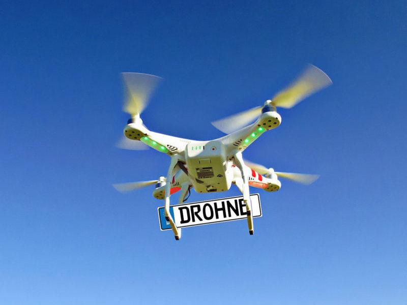 Drohnen Kennzeichen, Drohnen Plakette